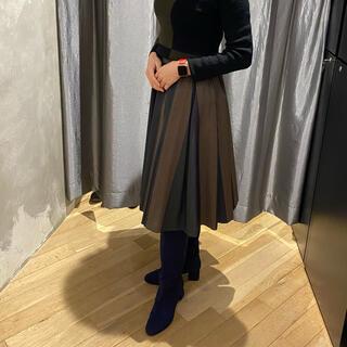 ダブルスタンダードクロージング(DOUBLE STANDARD CLOTHING)の新品✨ダブルスタンダード スカート(ひざ丈スカート)