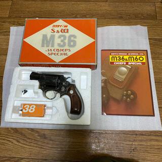 コクサイ s&w  M36チーフスペシャル ブルーメタル モデルガン(その他)