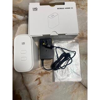 エヌイーシー(NEC)のUQ WiMAX HOME 02(PC周辺機器)