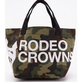 ロデオクラウンズ(RODEO CROWNS)のロデオクラウンズ ミニトートバッグ ランチバッグ 新品(トートバッグ)