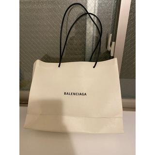 バレンシアガ(Balenciaga)のバレンシアガ ショッピングバッグ L ホワイト 最終値下げ(トートバッグ)