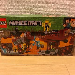 レゴ(Lego)の新品 レゴ LEGO マインクラフト ブレイズブリッジでの戦い 21154(積み木/ブロック)