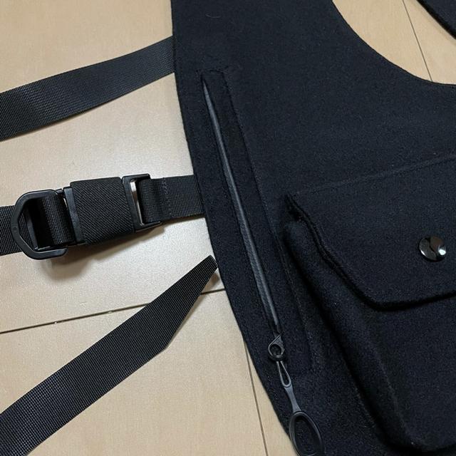 BEAMS(ビームス)の希少 GORE-TEX ウール使用 ショルダーベスト  メンズのトップス(ベスト)の商品写真