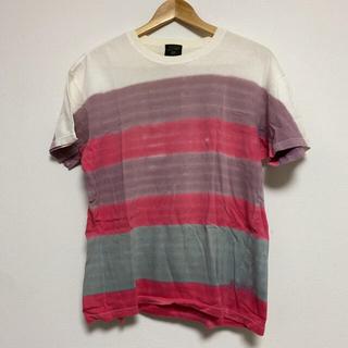ジャンポールゴルチエ(Jean-Paul GAULTIER)のJean Paul Gaultier  border tee shirt(Tシャツ/カットソー(半袖/袖なし))