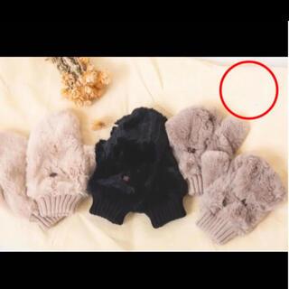 シマムラ(しまむら)のプチプラのあや PAミトンテブクロ ミトン 手袋(手袋)