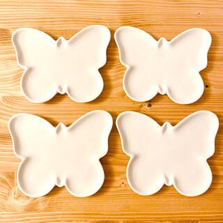 イデー(IDEE)の蝶々プレート 4枚セット(食器)