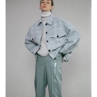 ルシェルブルー(LE CIEL BLEU)の新品未使用 完売商品 ルシェルブルー チェックシャツジャケット(その他)