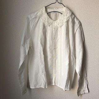 パーリッシィ(PAR ICI)のPARICI レース襟ブラウス(シャツ/ブラウス(長袖/七分))