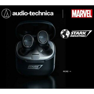 オーディオテクニカ(audio-technica)のMARVEL STARK INDUSTRIES ATH-CK3TW SI(ヘッドフォン/イヤフォン)