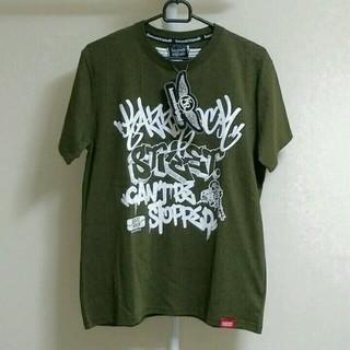 カズロックオリジナル(KAZZROCK ORIGINAL)の【新品】KAZZROCK Tシャツ Mサイズ(Tシャツ/カットソー(半袖/袖なし))