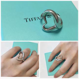 ティファニー(Tiffany & Co.)のTIFFANY&CO ビッグハートリング(リング(指輪))