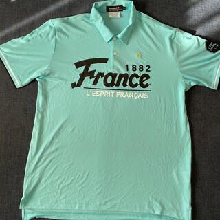 ルコックスポルティフ(le coq sportif)のゴルフウエア ポロシャツ(ポロシャツ)