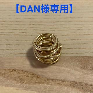 イオッセリアーニ(IOSSELLIANI)のイオッセリアーニ パズルリング 8連 ゴールド(リング(指輪))