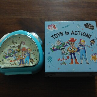 ディズニー(Disney)の目覚まし時計 トイストーリー(置時計)