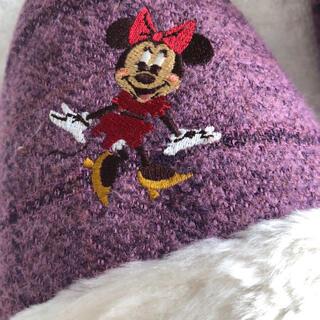 ディズニー(Disney)のスリッパ ミニーマウス もこもこ(スリッパ/ルームシューズ)