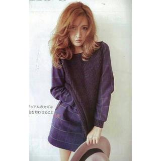 マーキュリーデュオ(MERCURYDUO)の紗栄子着♡チェック柄ミニSK(ミニスカート)
