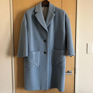 ロイスクレヨン(Lois CRAYON)のパステルカラーコート(ロングコート)