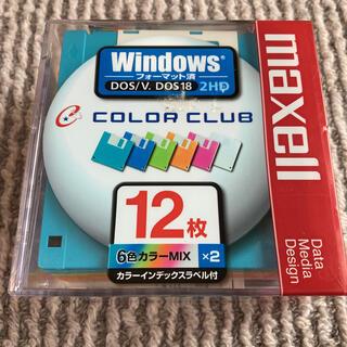 マクセル(maxell)の【新品未開封品】maxell 3.5型フロッピーディスク 12枚(その他)