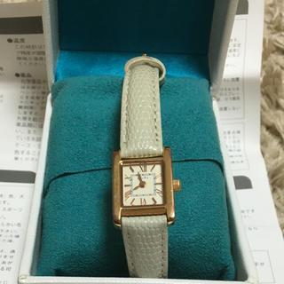 アガット(agete)のアガットレザーベルトの腕時計♡(腕時計)