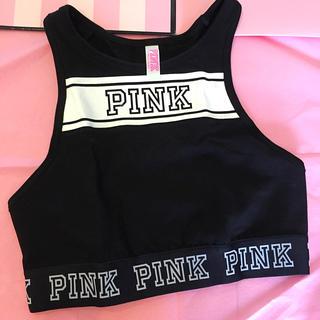 ヴィクトリアズシークレット(Victoria's Secret)のPINK クロップドタンク(タンクトップ)