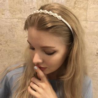 ロキエ(Lochie)のepine pearl hair accessory(カチューシャ)