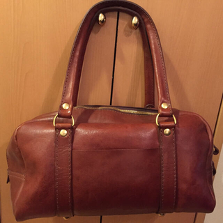 ヘルツ(HERZ)の1/12まで限定 HERZ 学生鞄を思わせるカジュアルボストン V-138-CH(ボストンバッグ)