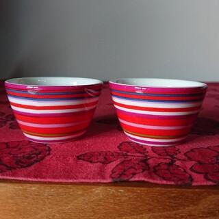 イッタラ(iittala)のイッタラ オリゴ エッグカップ レッド(食器)