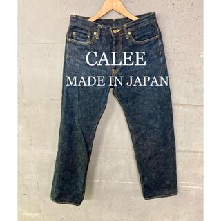 キャリー(CALEE)のCALEE セルビッチデニム!日本製!オレンジセルビッチ!(デニム/ジーンズ)