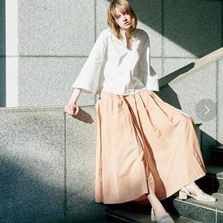 ランダ(RANDA)のランダ フレアパンツ パンツスカート(ロングスカート)