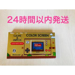 ニンテンドースイッチ(Nintendo Switch)のゲーム&ウオッチ スーパーマリオブラザーズ 新品未開封(携帯用ゲーム機本体)