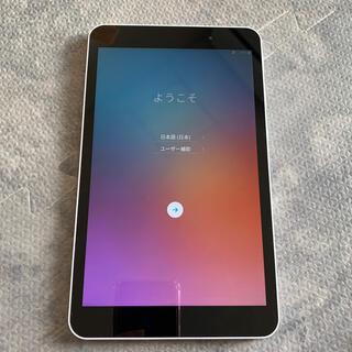 エルジーエレクトロニクス(LG Electronics)のLG タブレット (LGT02) ホワイト(タブレット)