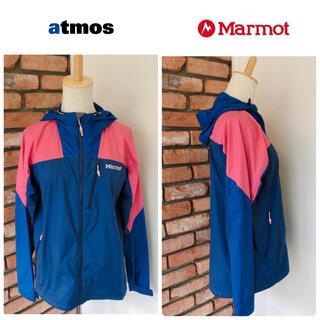 アトモス(atmos)の希少 ATMOS × Marmot アトモス マーモット ジップアップ パーカー(ナイロンジャケット)