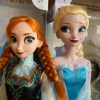 ディズニー(Disney)のアナと雪の女王 シンギングドール 2体(キャラクターグッズ)