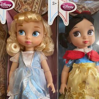 ディズニー(Disney)のディズニーアニメータードール シンデレラ&白雪姫 (キャラクターグッズ)