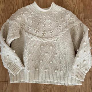 ポップコーン ニット popcorn knit(ニット/セーター)
