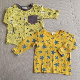 サンカンシオン(3can4on)の3can4on ロンT 80cm 2枚セット(Tシャツ)