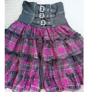 ボディライン(BODYLINE)のコルセットスカート(ひざ丈スカート)