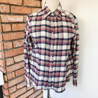 laule'a sunny side store チェックシャツ フリーサイズ(シャツ/ブラウス(長袖/七分))