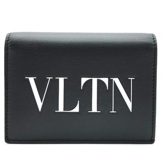 ヴァレンティノガラヴァーニ(valentino garavani)のヴァレンティノ VLTN カードケース RW2P0P39RCH ブラック 黒(財布)