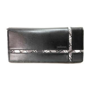 ニューヨーカー(NEWYORKER)のニューヨーカー アクセサリー 財布 メンズクロス NYK141 ブラック(長財布)
