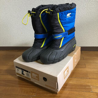 ソレル(SOREL)のSOREL ソレル キッズ スノーブーツ 24cm(ブーツ)
