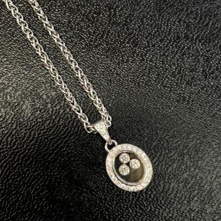ショパール(Chopard)の美品❣️ショパール ハッピーダイヤネックレス(ネックレス)
