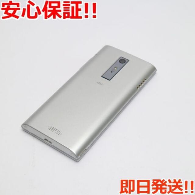 京セラ(キョウセラ)の美品 au URBANO L02 シルバー 白ロム スマホ/家電/カメラのスマートフォン/携帯電話(スマートフォン本体)の商品写真