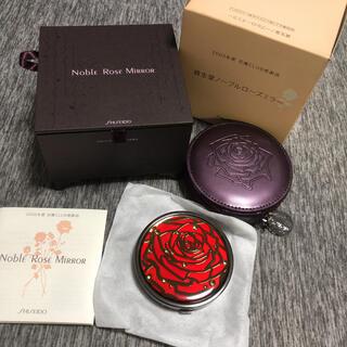 シセイドウ(SHISEIDO (資生堂))の資生堂ノーブルローズミラー ノベルティー限定 薔薇 美女と野獣 コンパクトミラー(ミラー)