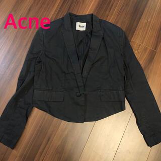 アクネ(ACNE)のACNE★ショート丈テーラードジャケット(テーラードジャケット)