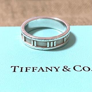 ティファニー(Tiffany & Co.)の【希少】ティファニー アトラス リング メンズ 22号 スターリング シルバー(リング(指輪))