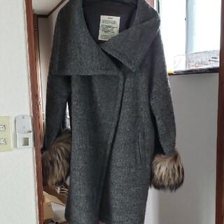 ゴア(goa)のpanaji goa 袖ファー コート ジャケット アウター(毛皮/ファーコート)