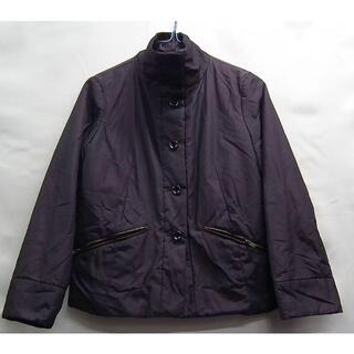 エミスフィール(HEMISPHERE)の古着☆エミスフィール☆ナイロン中綿ジャケット☆紫36長袖(ナイロンジャケット)