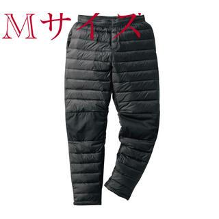 ウォークマン(WALKMAN)の新品タグ付き☆ワークマン フュージョンダウンパンツ M ブラック(ワークパンツ/カーゴパンツ)
