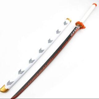 バンダイ(BANDAI)の新品 鬼滅の刃 鬼の刀剣 日輪刀 煉獄杏寿郎 100センチ(小道具)